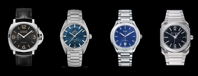 極薄と耐久性と高級感は共存できるのだろうか?高級腕時計の厚さ・スペック対決②