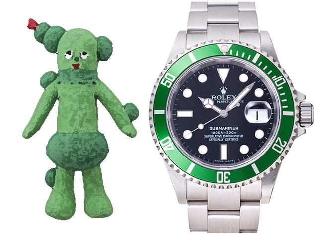 時計のニックネームは誰が付けてるんだ?俺じゃダメなのか?