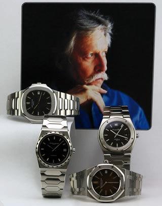 天才時計デザイナー チャールズ・ジェラルド・ジェンタ氏のアイコニックピース
