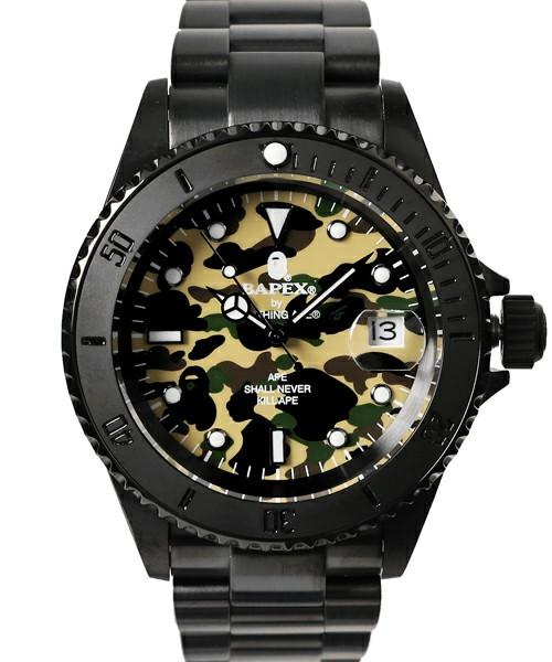週末リリースしたA BATHING APEの腕時計がたくさん!