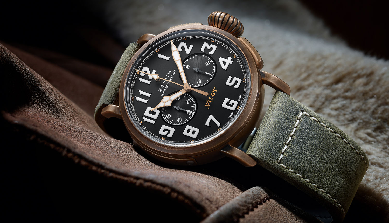 ゼニスの新作時計 パイロット タイプ20 エクストラ・スペシャル・クロノグラフ 45mm「29.2430.4069/21.C800」バーゼルワールド2017