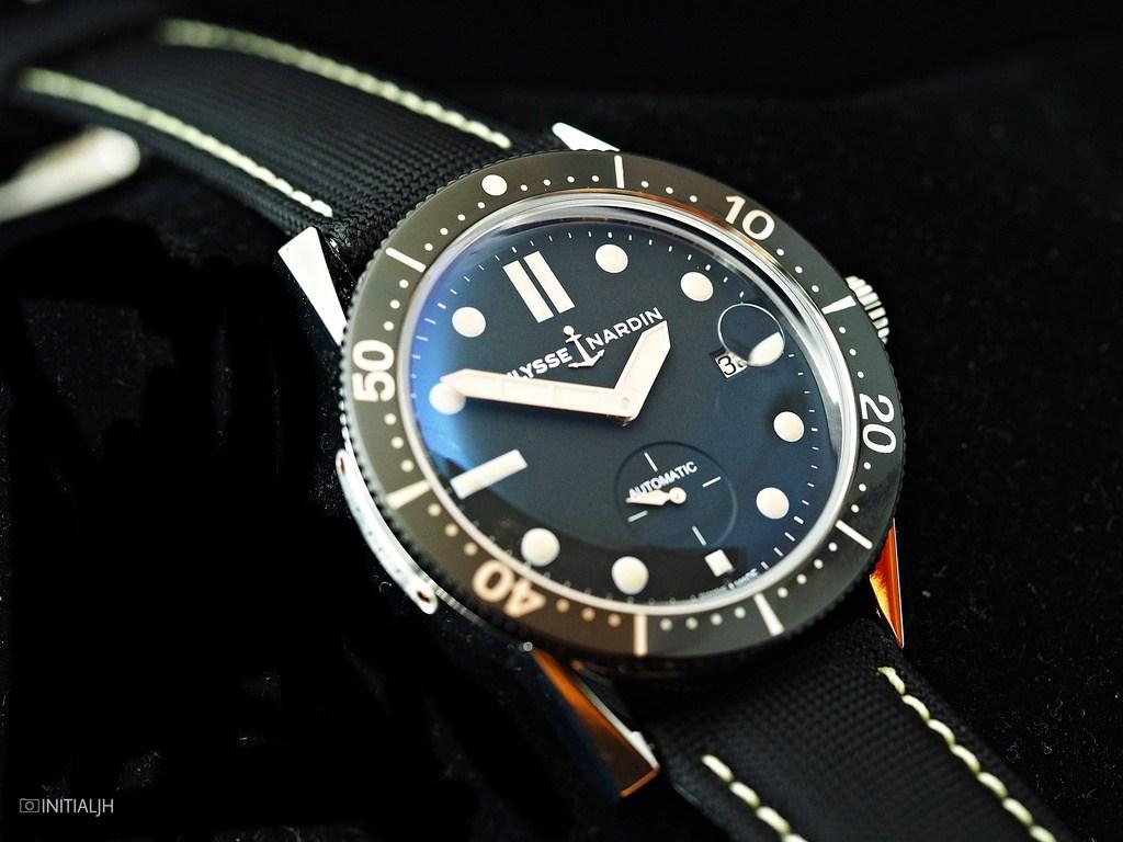 ユリス ナルダンの復刻ダイバーウォッチ 1964年モデル Ulysse Nardin Diver Le Locle 3203-950 SIHH2017