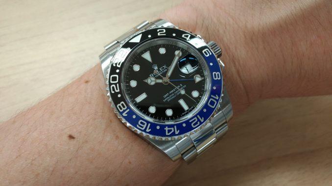 pretty nice 647ae 2b5de レビュー】ロレックス 116710BLNR GMTマスターⅡ 黒と青の衝撃 ...