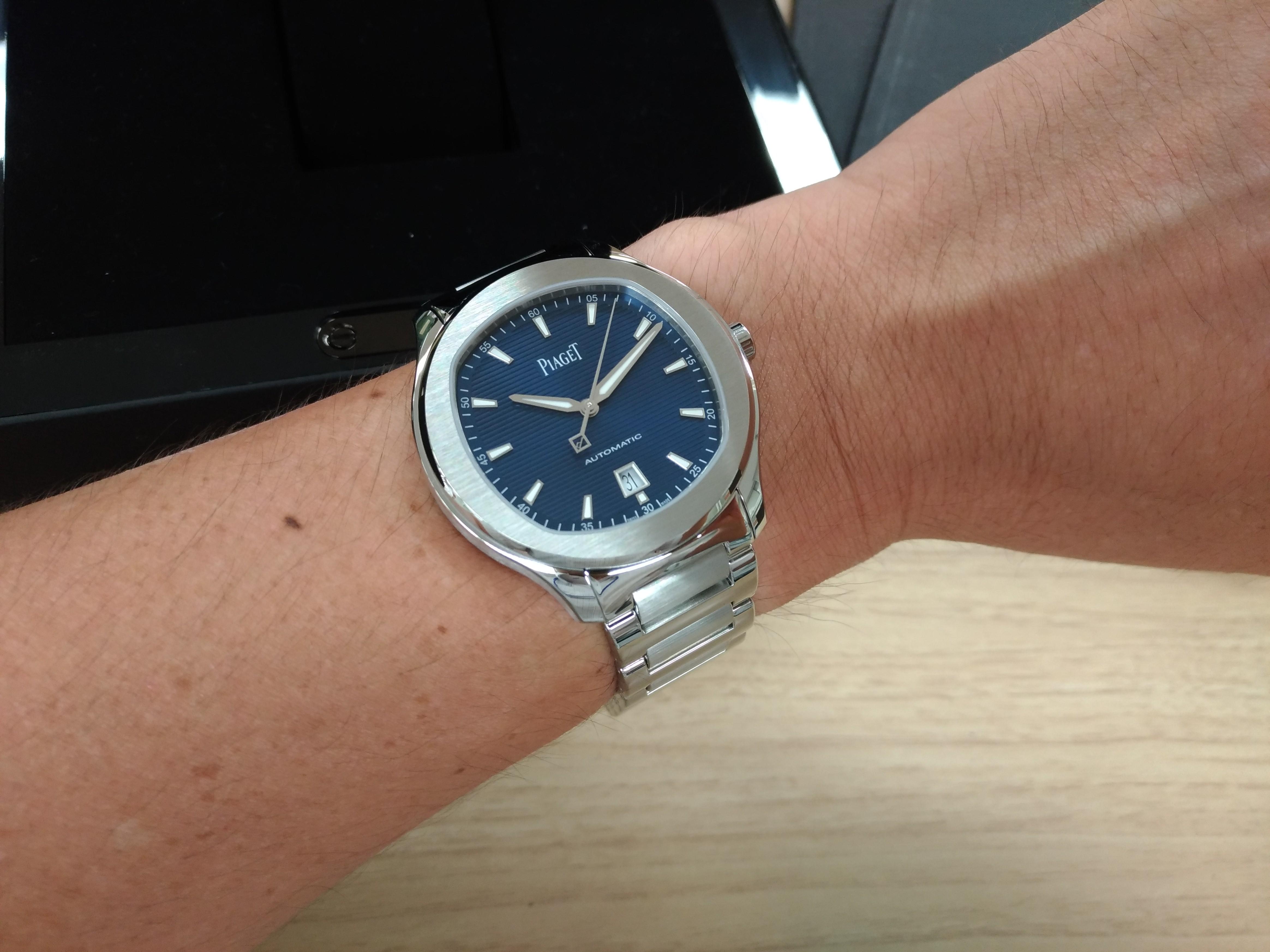 【レビュー】ピアジェ ポロ S 42mm  G0A41002 あともう少しな腕時計