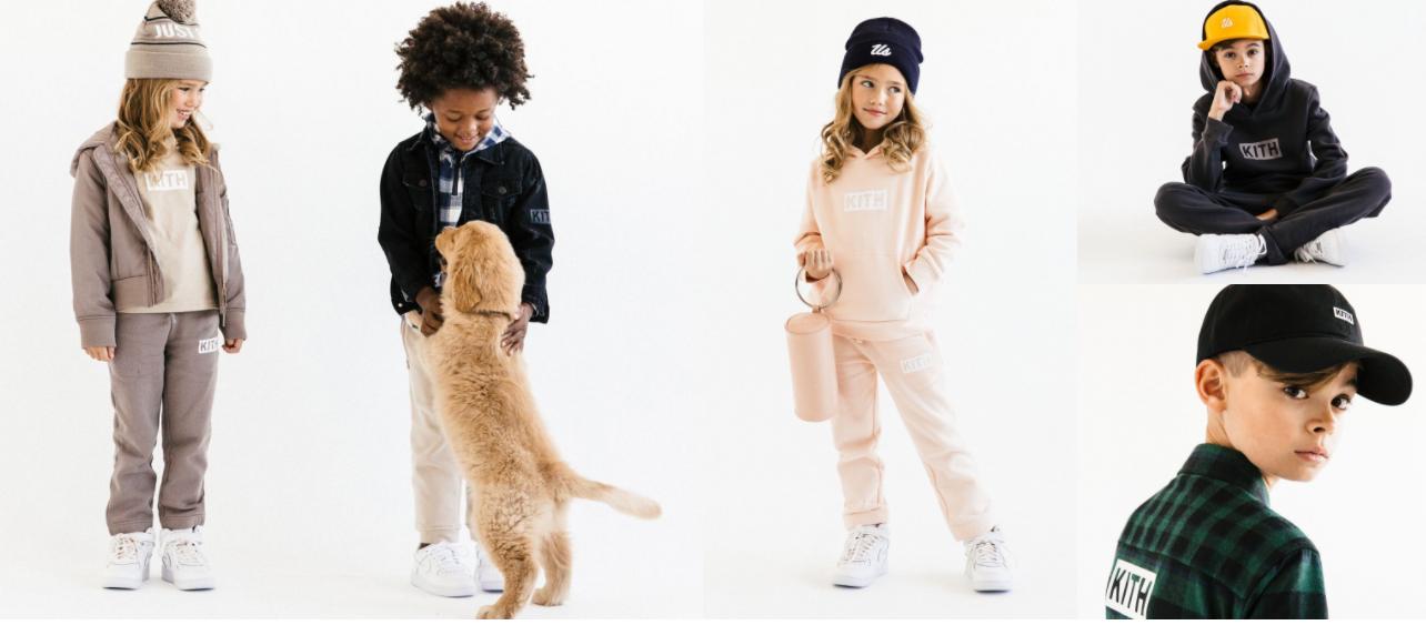 【個人輸入】KITH KIDSET 子供服が販売開始 ボックスロゴフーディーは65ドル