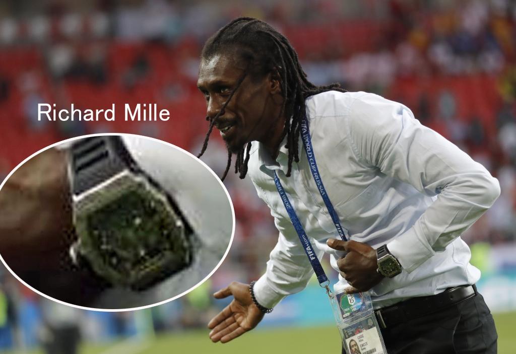ロシア ワールドカップに見る 監督たちの腕時計 5000円から1.7千万円