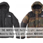 【2018FW】ザ・ノース・フェイス バルトロ ライト ジャケット ND91840 ¥59,400- /ノベルティ ND91845 ¥61,560-