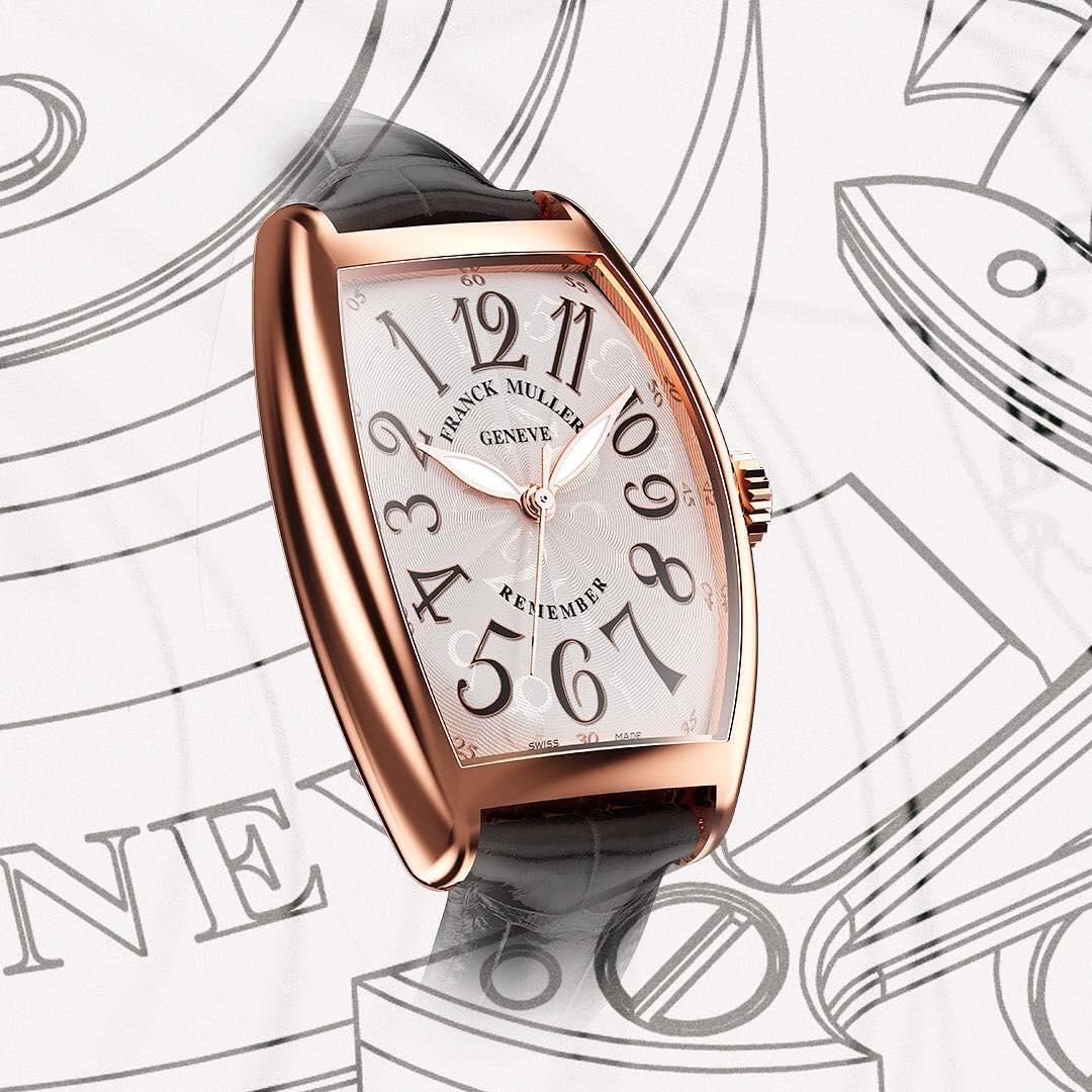 WPHH2019新作 フランクミュラー 「トノウ カーベックス リメンバー」 逆回転する時間(反時計回りの腕時計)