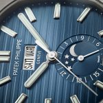 パテックフィリップ新作 5726/1A-014 ノーチラス・年次カレンダー・ムーンフェイズ ブルーブラック 40.5mm #バーゼルワールド2019