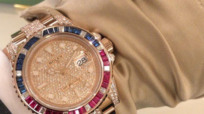 シークレット ロレックス 126755SARU「サファイア・ルビー・ダイヤモンド」ペプシカラージェムベゼルのERG GMTマスターII #バーゼルワールド2019 | ZENMAIのココ東京