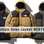 【2019FW】ザ・ノースフェイス マウンテンダウンジャケット ND91930 ゴアテックス / Mountain Down Jacket