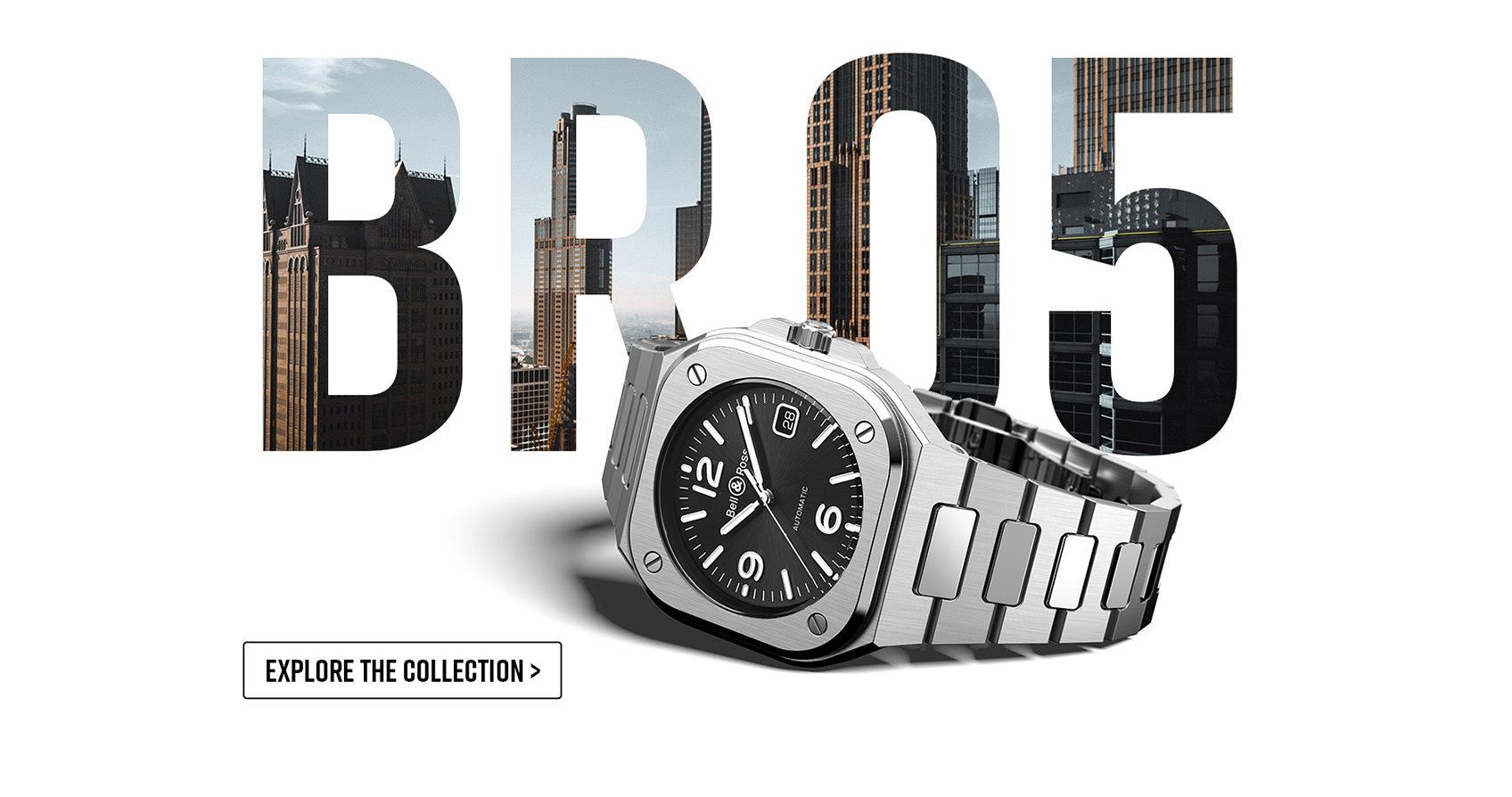 【2019年新作】ベル&ロス BR 05 Collection 40mmラグジュアリースポーツモデル爆誕
