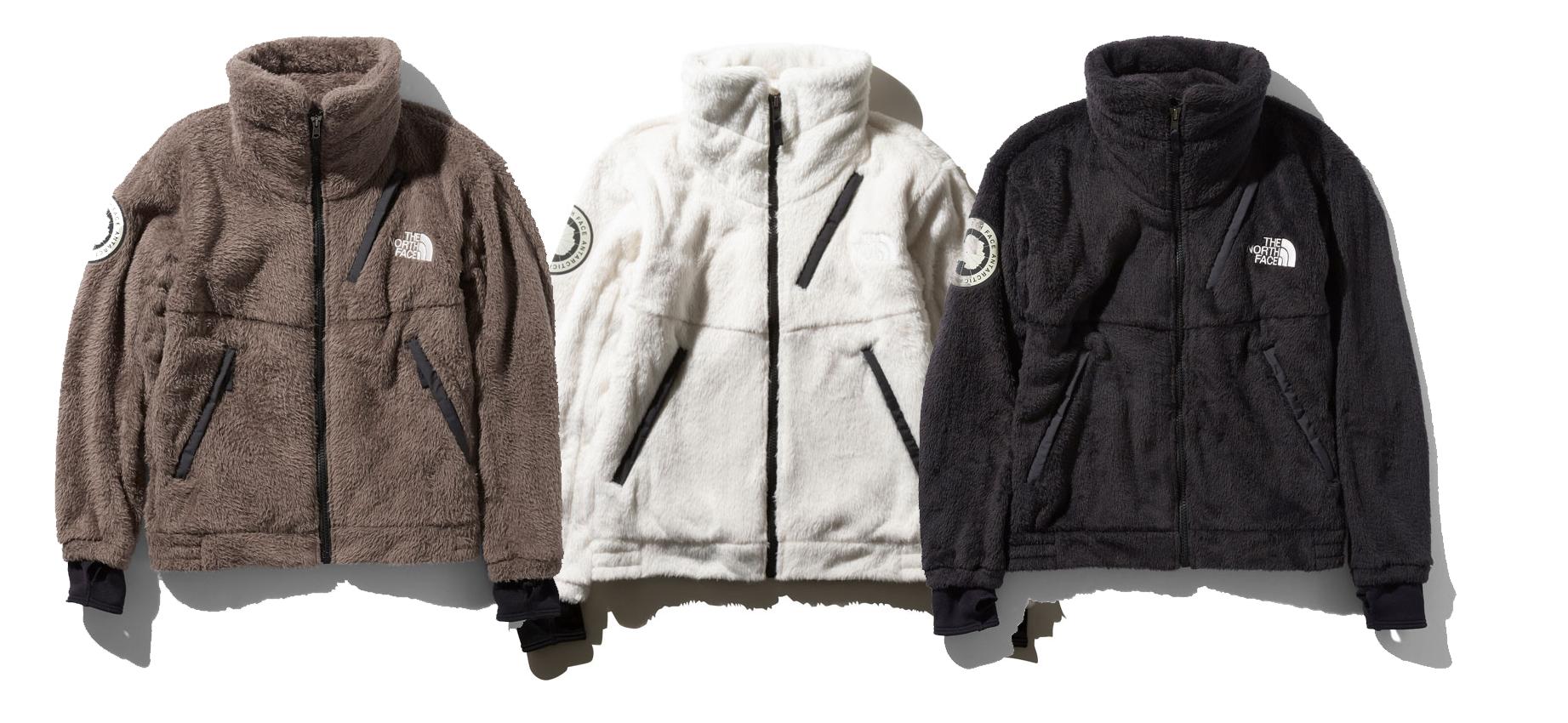 【2019FW】ザ・ノース・フェイス アンタークティカ バーサロフトジャケット NA61930 ¥33,000- 極地用フリース防寒ジャケット