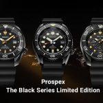 """【2020年新作】セイコー プロスペックス """"ザ・ブラックシリーズ"""" 限定モデル SBDX033 / SBDC095 / SBDL065"""