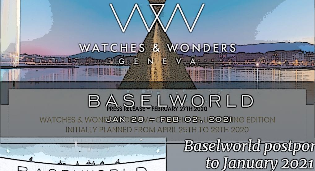 【新型コロナの猛威は腕時計業界の祭典にも】バーゼルワールド 2020 延期 ウォッチズ&ワンダーズ ジュネーブ 2020 中止