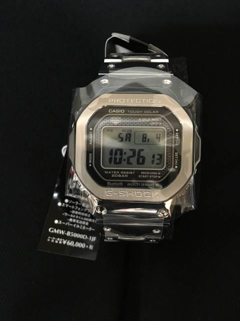 カシオ G-SHOCK GMW- B5000D-1JF...