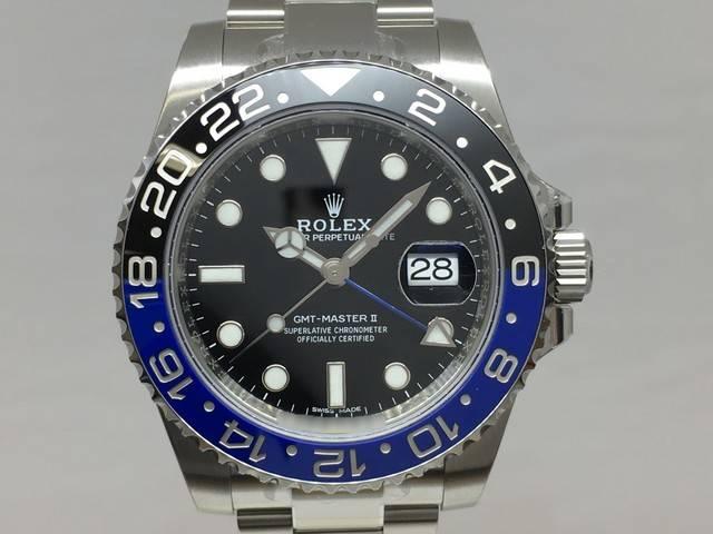 ROLEX GMT MasterⅡ 116710BLNR