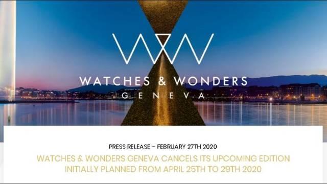 Watches & Wonders Geneva 2020