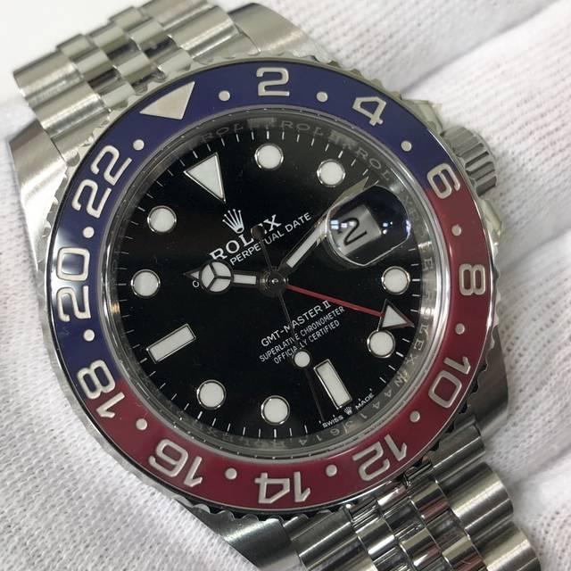 ロレックス GMTマスターⅡ 126710BLRO ジ...