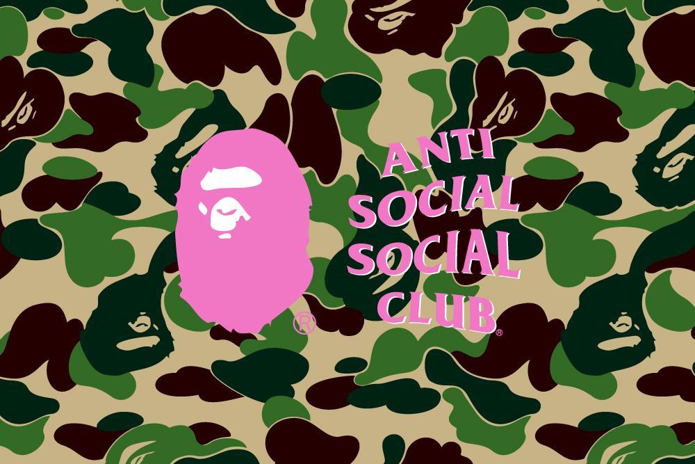 """9月5日 発売開始 anti social social club """"A BATHING APE"""" 第3弾 #ASSC #アンチソーシャルソーシャルクラブ"""