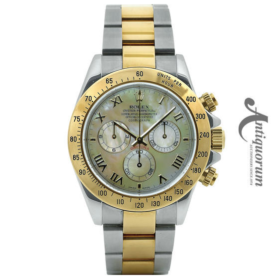 18K YG OYSTER PERPETUAL COS...