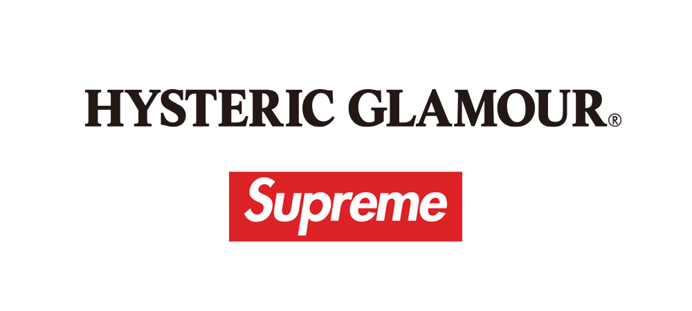 SUPREME×HYSTERIC GLAMOUR