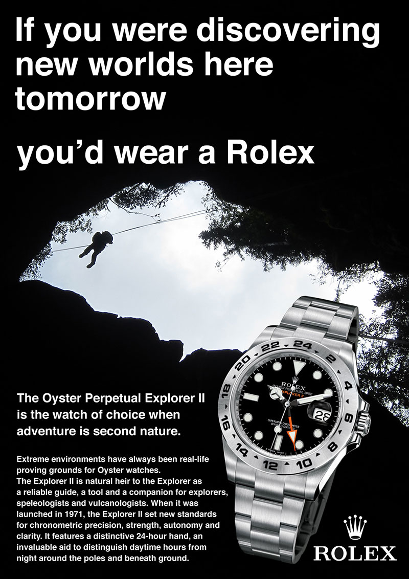 Welcome to RolexMagazine.com...Home of Jake's Rolex World Magazine..Optimized for iPad and iPhone: Rolex Magazine Ad Photoshop Competition