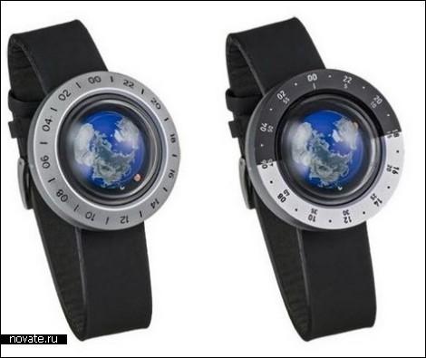 Земной шар у вас на запястье. Наручные часы «Think the Earth WN-2» - Блог о часах (23732)