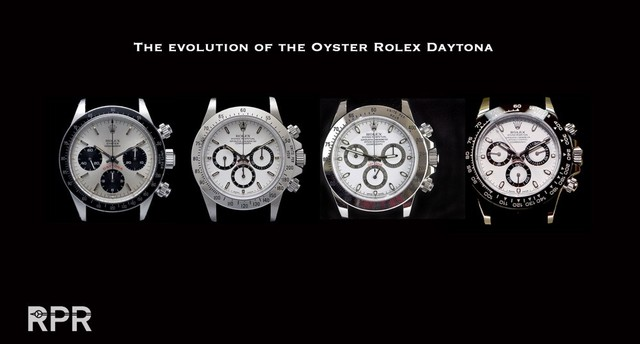 Evolution of the Rolex Oyster Cosmograph Daytona - Rolex Passion Report (21296)